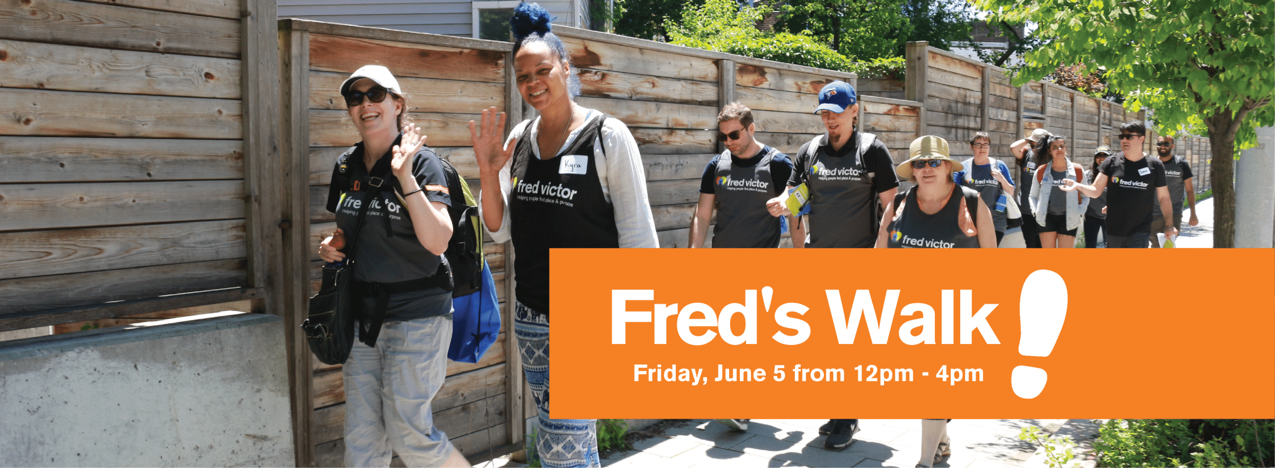 Freds Walk 2020 Register Today