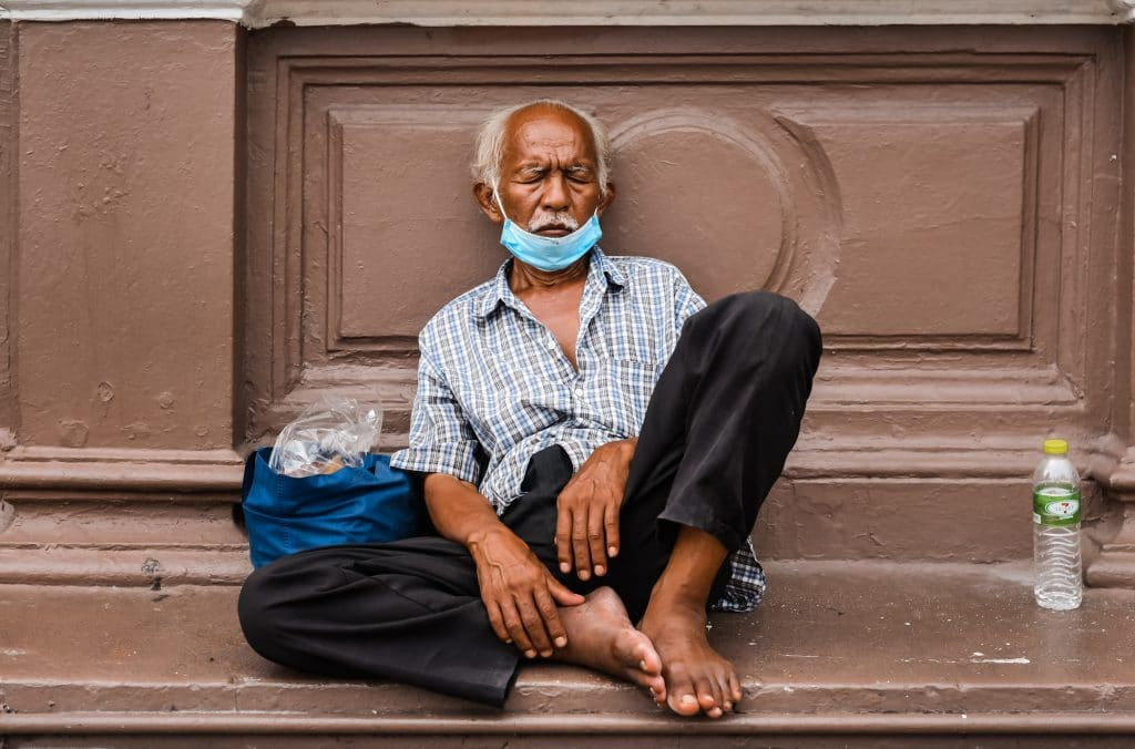 Help homeless during hot weather