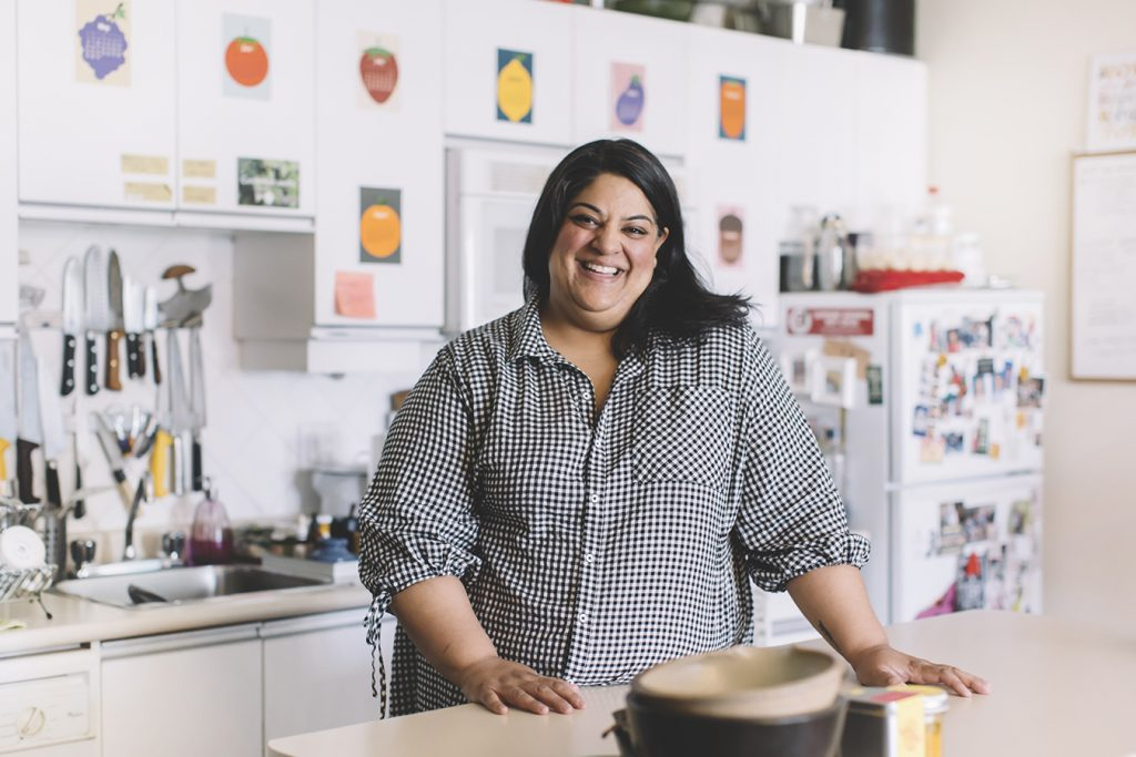 a photo of Joshna Mahar, Chef, Author, and Activist