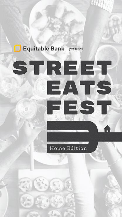 Street Eats Home Edition 2020 Banner