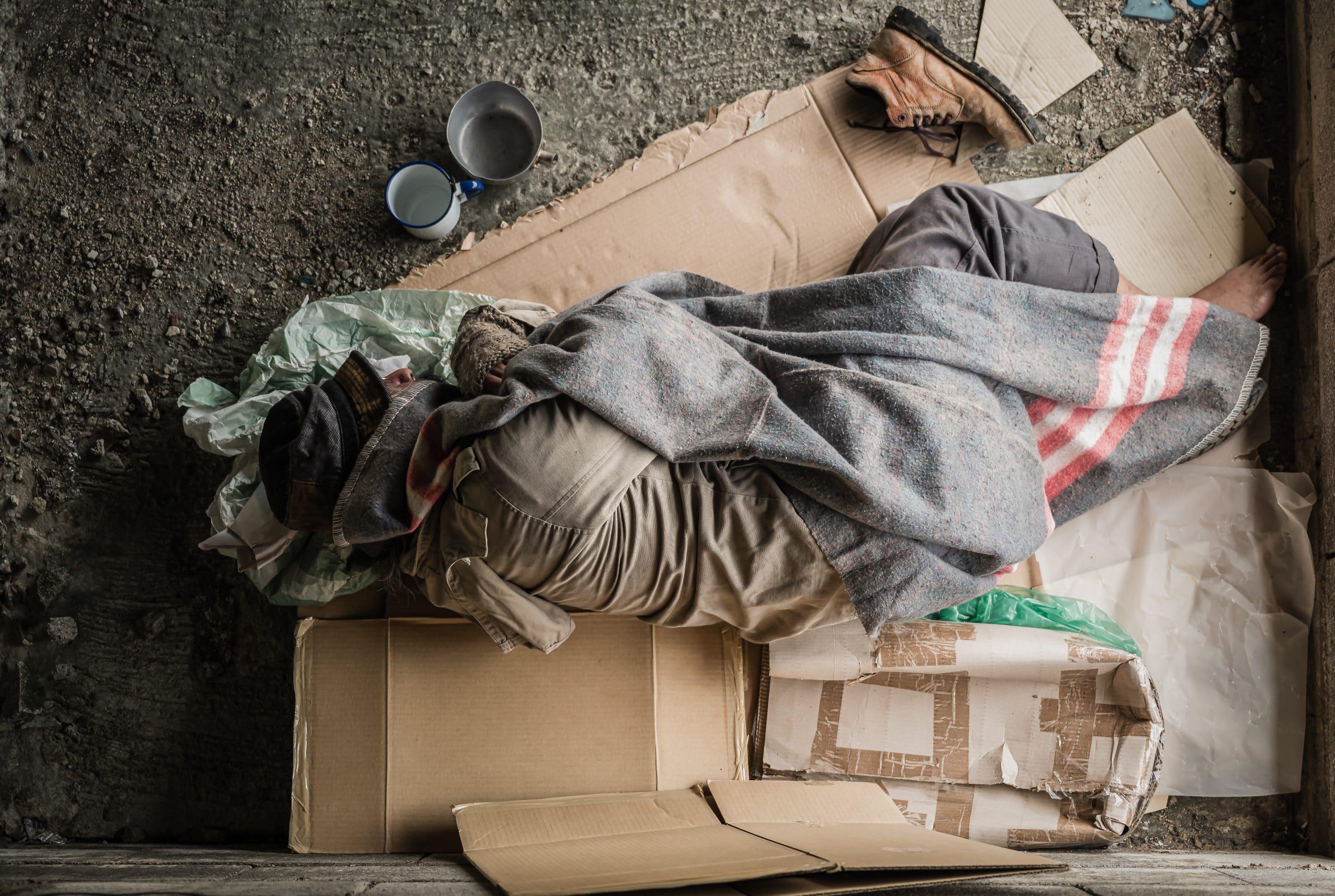 World Homeless Day Social Share Cover