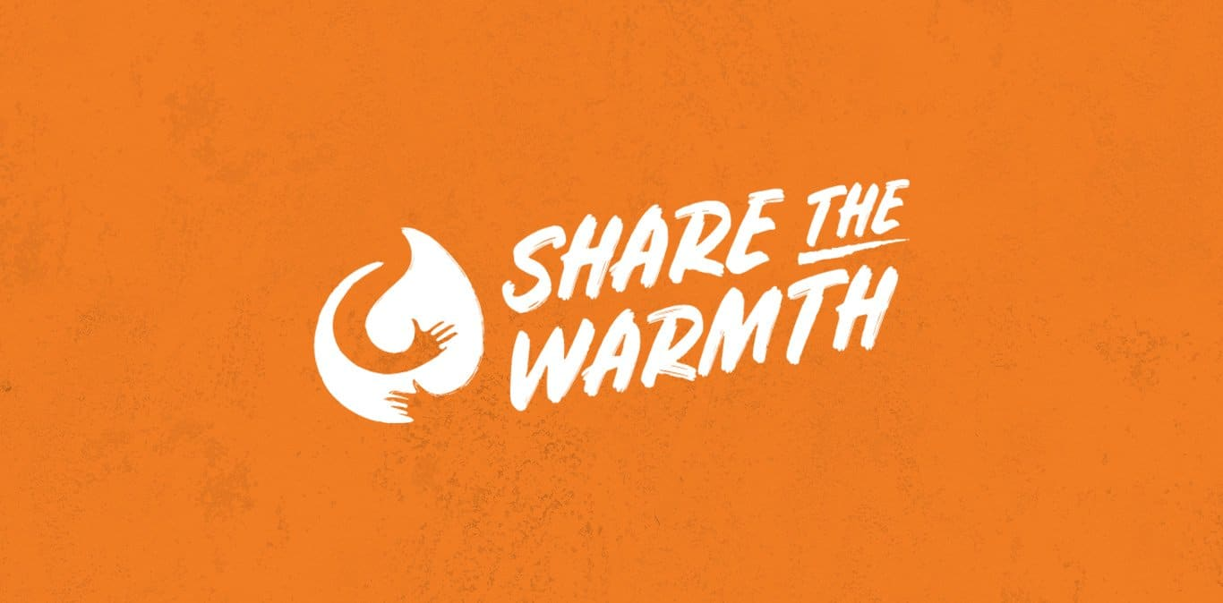 Share The Warmth banner