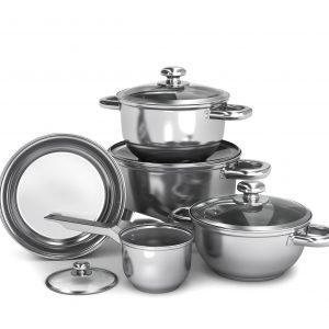A set of pots